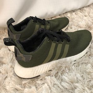 green adidas men shoes